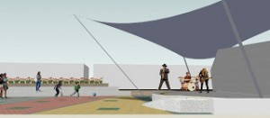 Animation der Alameda Sabino Gentili