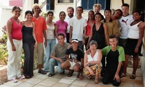 Besucher in Mãe Luiza