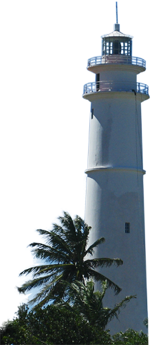Leuchtturm von Mãe Luiza