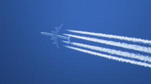 Bild Flugzeug auf Reiseflughöhe