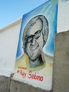 Zeichnung von Padre Sabino
