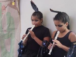 Photo einer Aufführung in der Ergänzungsschule