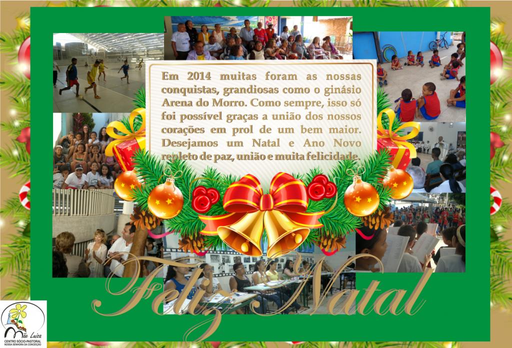 Weihnachtskarte ML 2014