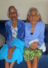 Bild von 2 Bewohnerinnen