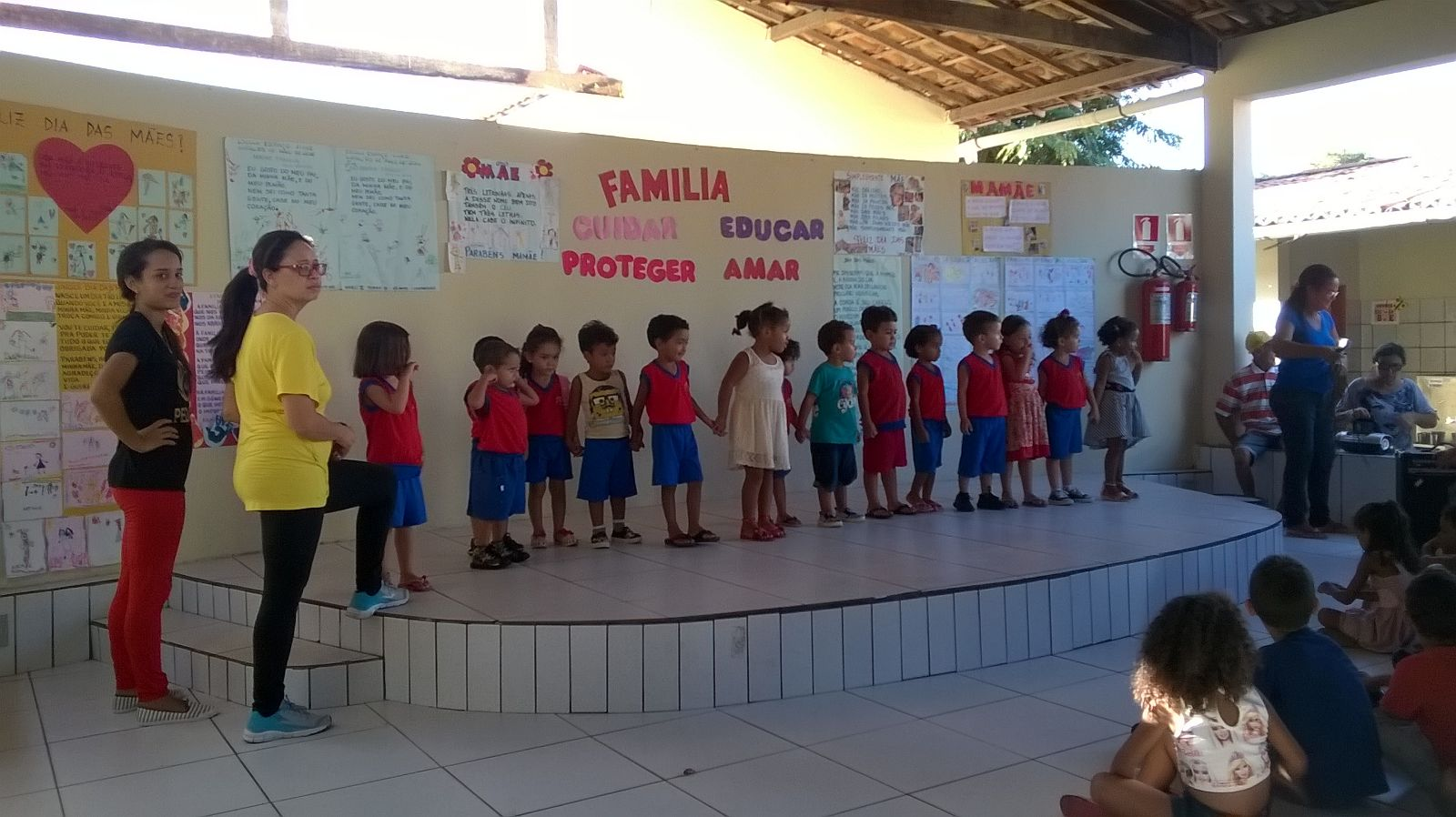 Bild im Kindergarten