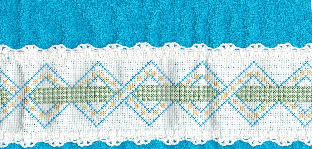 Handtuchverzierung aus der Produktion © G. Prantl / FrKr ML