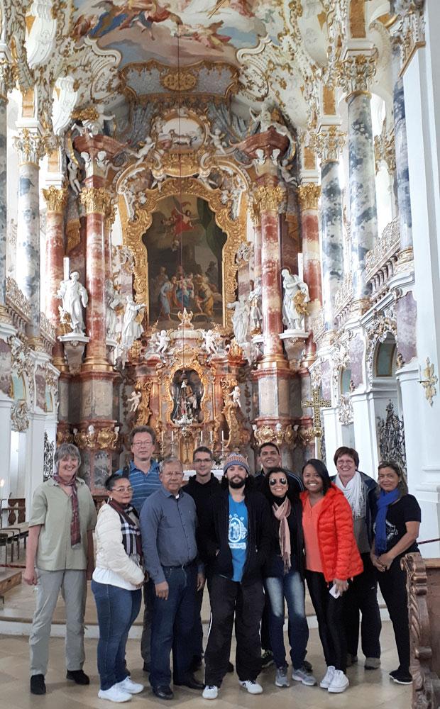 Besuch in der Wieskirche © I. Watzlawek / FrKr ML