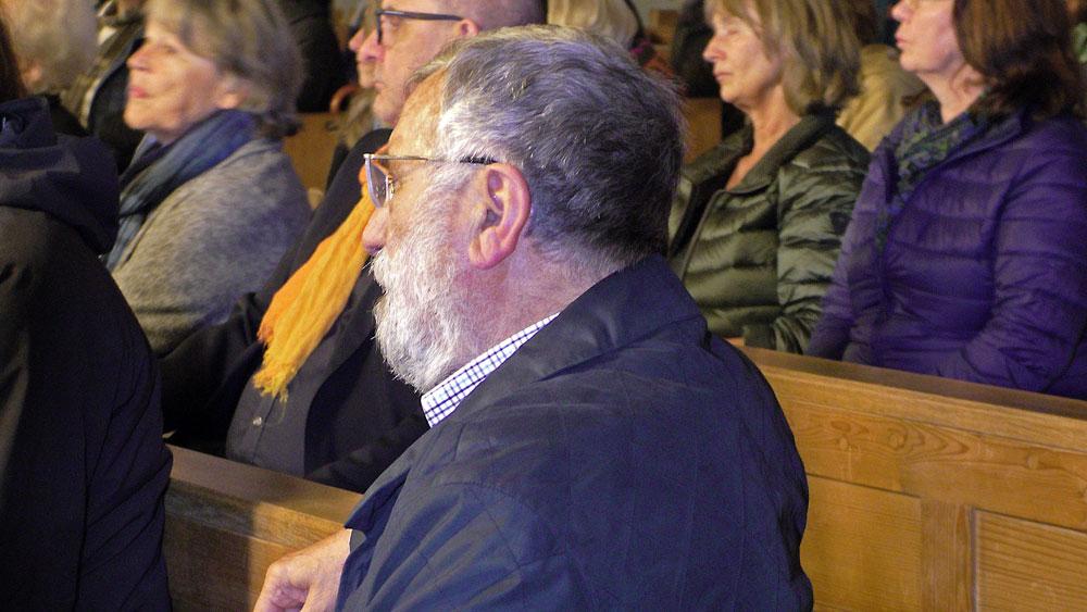 Initiator des Projektes vor über 30 Jahren: Der ehemalige Pfarrer von Steigenberg Konrad Albrecht © G. Klose / FrKr ML