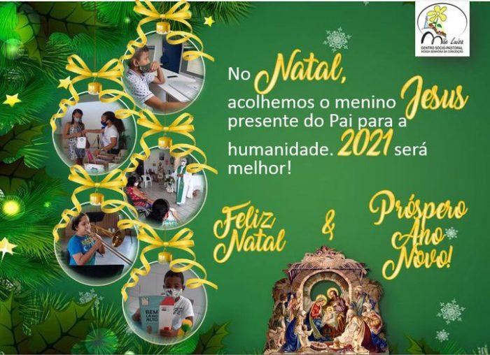 Weihnachtsgruß des Centro